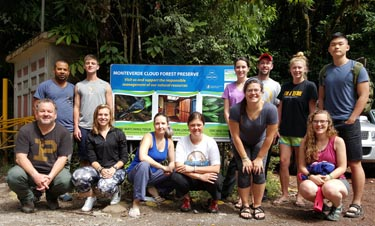 Biodiversity & Conservation in the Tropics, Costa Rica Study Abroad Course ENTM295 (May 2016)