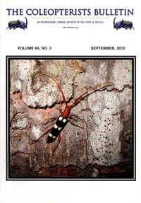 Coleopterists Bulletin September 2010